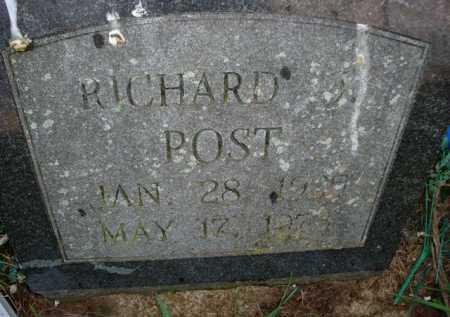 POST, RICHARD - Scott County, Illinois   RICHARD POST - Illinois Gravestone Photos