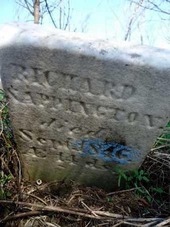 SAPPINGTON, RICHARD - Scott County, Illinois   RICHARD SAPPINGTON - Illinois Gravestone Photos