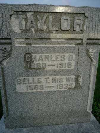 TAYLOR, CHARLES D. - Scott County, Illinois | CHARLES D. TAYLOR - Illinois Gravestone Photos