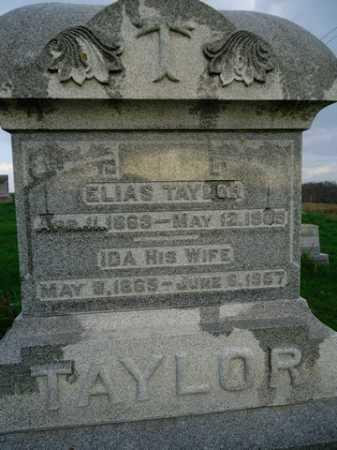 TAYLOR, IDA - Scott County, Illinois | IDA TAYLOR - Illinois Gravestone Photos
