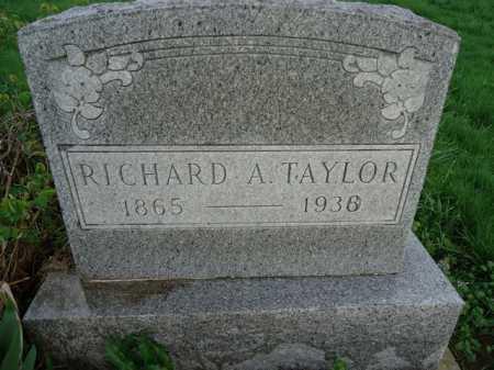 TAYLOR, RICHARD A. - Scott County, Illinois | RICHARD A. TAYLOR - Illinois Gravestone Photos