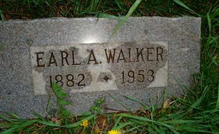 WALKER, EARL A. - Scott County, Illinois   EARL A. WALKER - Illinois Gravestone Photos