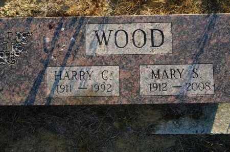 WOOD, MARY S. - Scott County, Illinois | MARY S. WOOD - Illinois Gravestone Photos