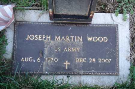 WOOD, JOSEPH MARTIN - Scott County, Illinois | JOSEPH MARTIN WOOD - Illinois Gravestone Photos