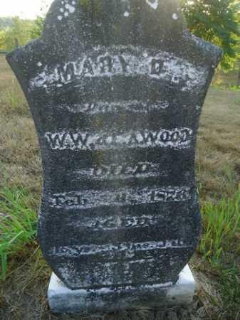 WOOD, MARY D. - Scott County, Illinois   MARY D. WOOD - Illinois Gravestone Photos