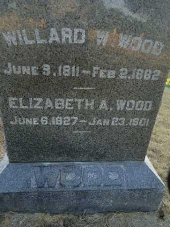WOOD, WILLARD W. - Scott County, Illinois | WILLARD W. WOOD - Illinois Gravestone Photos