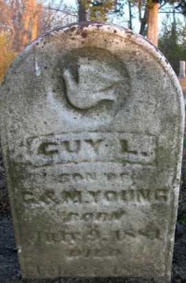 YOUNG, GUY L. - Scott County, Illinois | GUY L. YOUNG - Illinois Gravestone Photos