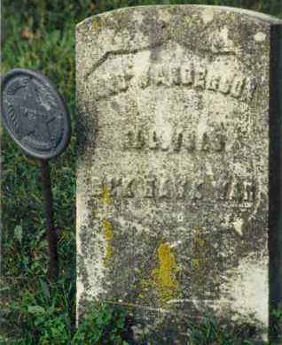 ANDERSON, ANDREW - Shelby County, Illinois | ANDREW ANDERSON - Illinois Gravestone Photos