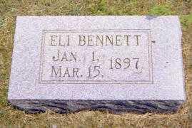 BENNETT, ELI - Shelby County, Illinois | ELI BENNETT - Illinois Gravestone Photos