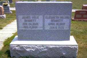 BENNETT, JAMES POLK - Shelby County, Illinois | JAMES POLK BENNETT - Illinois Gravestone Photos