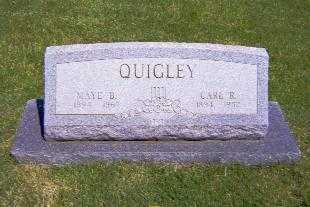 QUIGLEY, CARL L - Shelby County, Illinois | CARL L QUIGLEY - Illinois Gravestone Photos