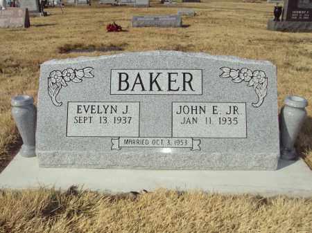 REEVES BAKER JR., EVELYN JERALDINE - St. Clair County, Illinois | EVELYN JERALDINE REEVES BAKER JR. - Illinois Gravestone Photos