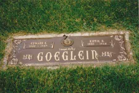 MAXWELL GOEGLEIN, EDWARD E.& KATIEB. - St. Clair County, Illinois | EDWARD E.& KATIEB. MAXWELL GOEGLEIN - Illinois Gravestone Photos