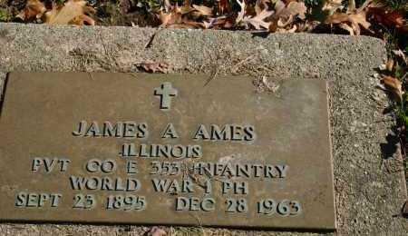 AMES, JAMES A - Stark County, Illinois | JAMES A AMES - Illinois Gravestone Photos