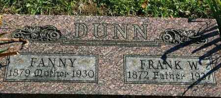 DUNN, FRANK W - Stark County, Illinois | FRANK W DUNN - Illinois Gravestone Photos