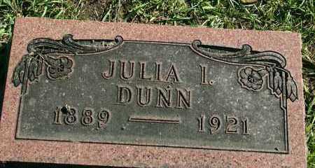 DUNN, JULIA L. - Stark County, Illinois | JULIA L. DUNN - Illinois Gravestone Photos