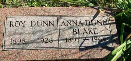 DUNN, ANNA - Stark County, Illinois | ANNA DUNN - Illinois Gravestone Photos