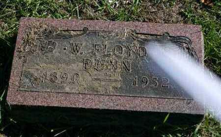 DUNN, W. FLOYD - Stark County, Illinois | W. FLOYD DUNN - Illinois Gravestone Photos