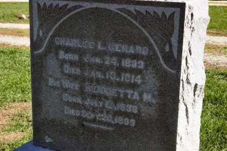 LESAN GERARD, HENRIETTA - Stark County, Illinois | HENRIETTA LESAN GERARD - Illinois Gravestone Photos
