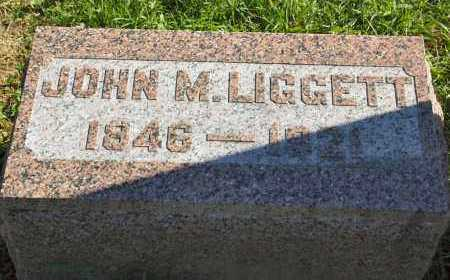 LIGGETT, JOHN M. - Stark County, Illinois | JOHN M. LIGGETT - Illinois Gravestone Photos