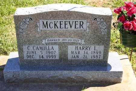 MCKEEVER, C. CAMILLA - Stark County, Illinois   C. CAMILLA MCKEEVER - Illinois Gravestone Photos