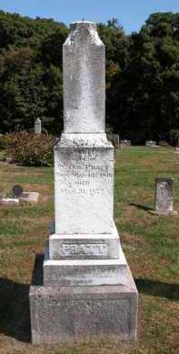 PRATT, MARY - Stark County, Illinois | MARY PRATT - Illinois Gravestone Photos