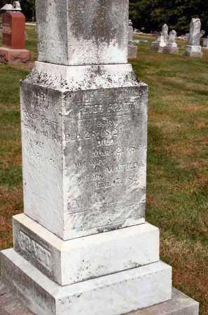 PRATT, PETER - Stark County, Illinois | PETER PRATT - Illinois Gravestone Photos