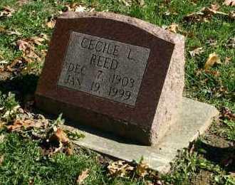REED, CECILE L. - Stark County, Illinois | CECILE L. REED - Illinois Gravestone Photos