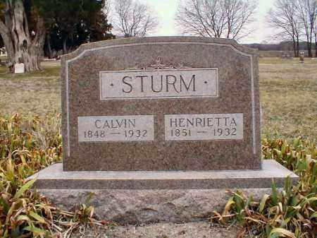 STURM, HENRIETTA - Stark County, Illinois | HENRIETTA STURM - Illinois Gravestone Photos