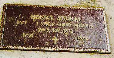 STURM, HENRY - Stark County, Illinois   HENRY STURM - Illinois Gravestone Photos