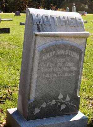 STURM, MARY ANN - Stark County, Illinois   MARY ANN STURM - Illinois Gravestone Photos
