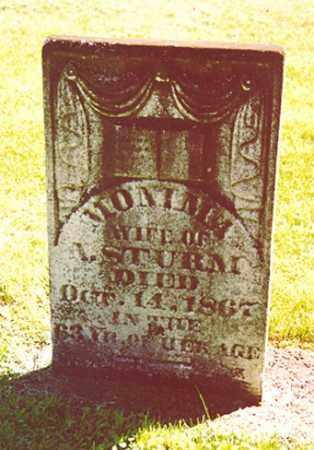 STURM, MONIMA - Stark County, Illinois | MONIMA STURM - Illinois Gravestone Photos