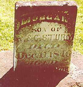 STURM, MORGAN - Stark County, Illinois   MORGAN STURM - Illinois Gravestone Photos