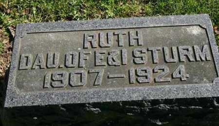 STURM, RUTH - Stark County, Illinois   RUTH STURM - Illinois Gravestone Photos