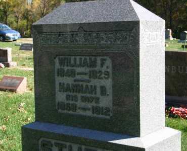 STURM, WILLIAM F. - Stark County, Illinois | WILLIAM F. STURM - Illinois Gravestone Photos