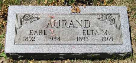 AURAND, EARL V. - Stephenson County, Illinois | EARL V. AURAND - Illinois Gravestone Photos