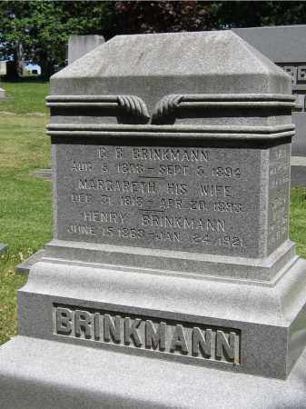 BRINKMANN, MARGARETH - Stephenson County, Illinois | MARGARETH BRINKMANN - Illinois Gravestone Photos