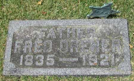 DRENER [CIVIL WAR], FRED - Stephenson County, Illinois | FRED DRENER [CIVIL WAR] - Illinois Gravestone Photos