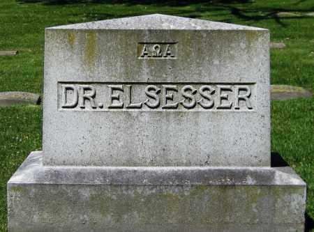 ELSESSER, DR. - Stephenson County, Illinois | DR. ELSESSER - Illinois Gravestone Photos