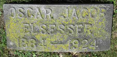 ELSESSER, OSCAR JACOB - Stephenson County, Illinois | OSCAR JACOB ELSESSER - Illinois Gravestone Photos