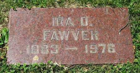 FAWVER, IRA D. - Stephenson County, Illinois | IRA D. FAWVER - Illinois Gravestone Photos