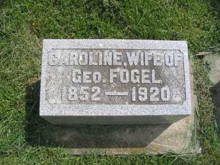 LAUBER FOGEL, CAROLINE - Stephenson County, Illinois | CAROLINE LAUBER FOGEL - Illinois Gravestone Photos