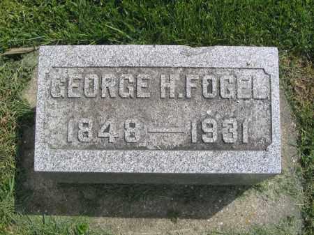 FOGEL, GEORGE H. - Stephenson County, Illinois | GEORGE H. FOGEL - Illinois Gravestone Photos