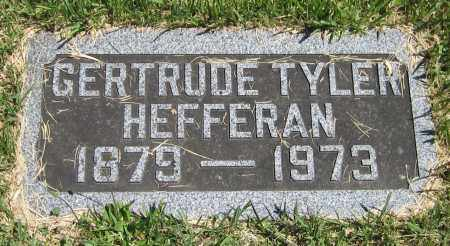 TYLER HEFFERAN, GERTRUDE - Stephenson County, Illinois | GERTRUDE TYLER HEFFERAN - Illinois Gravestone Photos