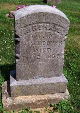 HOOVER, MARTHA C. - Stephenson County, Illinois | MARTHA C. HOOVER - Illinois Gravestone Photos