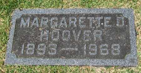 HOOVER, MARGARETTE D. - Stephenson County, Illinois | MARGARETTE D. HOOVER - Illinois Gravestone Photos