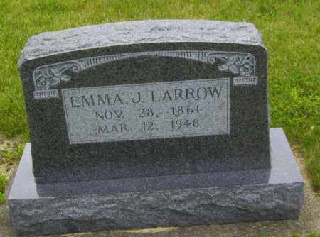 LARROW, EMMA - Stephenson County, Illinois | EMMA LARROW - Illinois Gravestone Photos