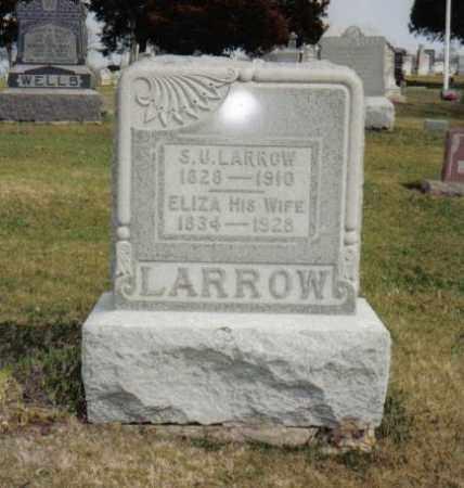 LARROW, SU / URIAS / URIAH - Stephenson County, Illinois | SU / URIAS / URIAH LARROW - Illinois Gravestone Photos