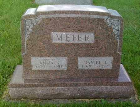 MEIER, DANIEL J - Stephenson County, Illinois | DANIEL J MEIER - Illinois Gravestone Photos
