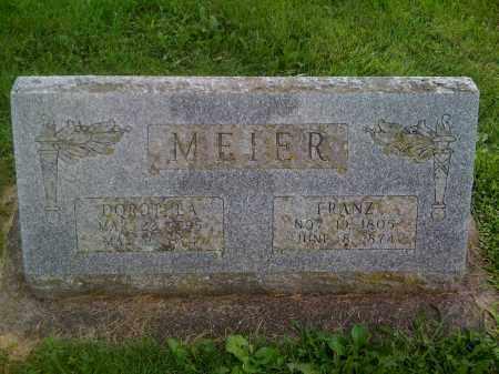 MEIER, FRANZ - Stephenson County, Illinois | FRANZ MEIER - Illinois Gravestone Photos